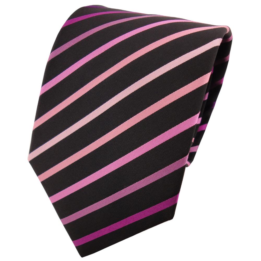 tigertie designer krawatte violett flieder rosa magenta. Black Bedroom Furniture Sets. Home Design Ideas