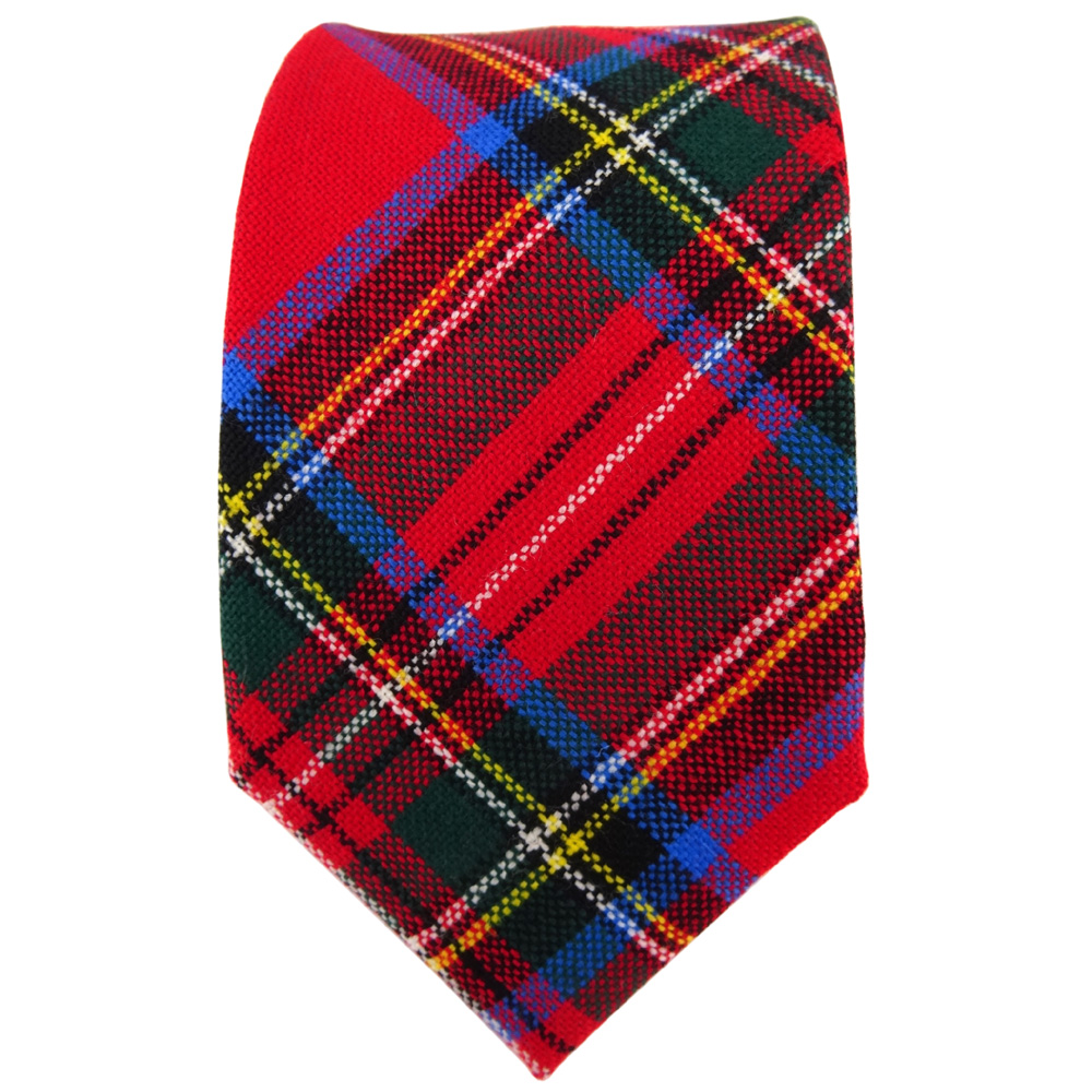 tigertie designer wollkrawatte rot gr n blau gelb silber kariert krawatte wolle der faire topshop. Black Bedroom Furniture Sets. Home Design Ideas