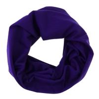 Schlauchtuch Multifunktionstuch blau pink gestreift Blumenmotiv Tuch Schal